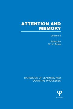 Handbook of Learning and Cognitive Processes (Volume 4)