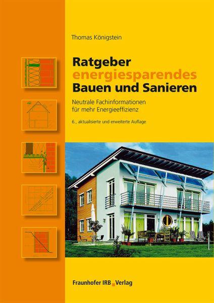 Ratgeber energiesparendes bauen und sanieren ebook pdf for Energiesparendes bauen