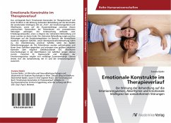 Emotionale Konstrukte im Therapieverlauf