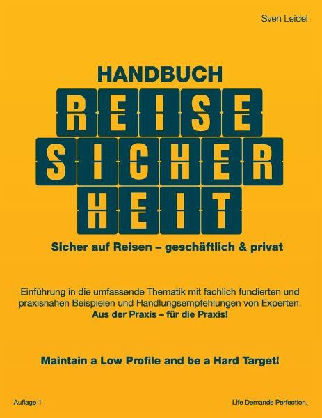 Handbuch Reisesicherheit - Leidel, Sven