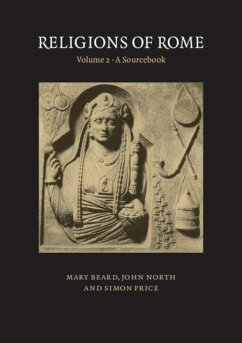 Religions of Rome: Volume 2, A Sourcebook (eBook, PDF) - Beard, Mary