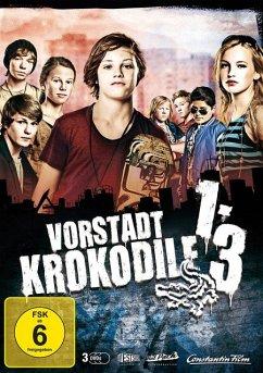 Vorstadtkrokodile 1-3 DVD-Box