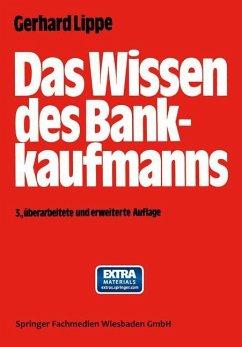 Das Wissen des Bankkaufmanns - Lippe, Gerhard