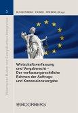 Wirtschaftsverfassung und Vergaberecht - Der verfassungsrechtliche Rahmen der Auftrags- und Konzessionsvergabe (eBook, PDF)