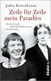 Zeile für Zeile mein Paradies (eBook, ePUB)