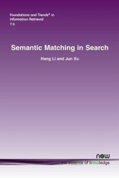 Semantic Matching in Search