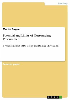 Potential and Limits of Outsourcing Procurement (eBook, PDF)