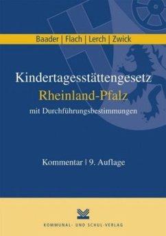 Kindertagesstättengesetz Rheinland-Pfalz mit Du...