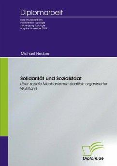 Solidarität und Sozialstaat (eBook, PDF)