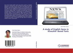 A study of English Items in Kiswahili- Based Texts