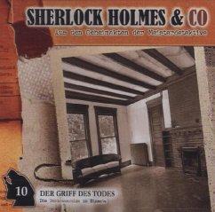 Sherlock Holmes & Co - Der Griff des Todes, Audio-CD - Futrelle, Jacques