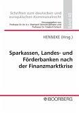 Sparkassen, Landes- und Förderbanken nach der Finanzmarktkrise (eBook, PDF)