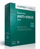Kaspersky Anti-Virus 2015 Upgrade (1 Lizenz)