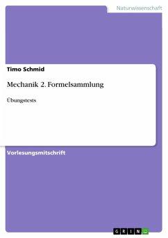 Mechanik 2. Formelsammlung (eBook, PDF)