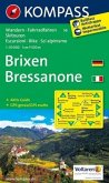 KOMPASS Wanderkarte Brixen /Bressanone
