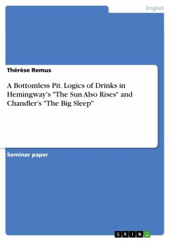 A Bottomless Pit. Logics of Drinks in Hemingway's