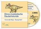 Dinos musikalische Deutschstunde, Audio-CD / Dinos DaZ-Kartei