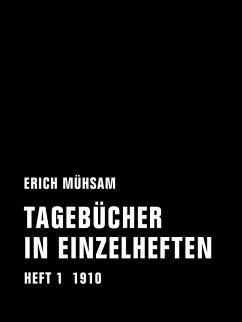 Tagebücher in Einzelheften. Heft 1 (eBook, ePUB) - Mühsam, Erich