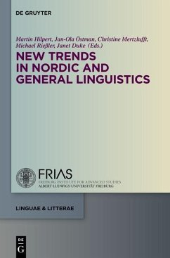New Trends in Nordic and General Linguistics