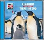 Pinguine / Tiere im Zoo, 1 Audio-CD
