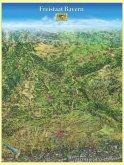 Panoramakarte Freistaat Bayern