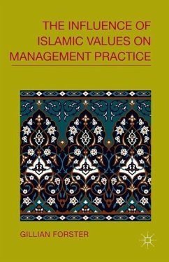 The Influence of Islamic Values on Management Practice - Forster, G.