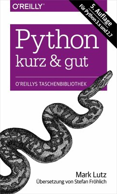 Python kurz & gut (eBook, PDF) - Lutz, Mark