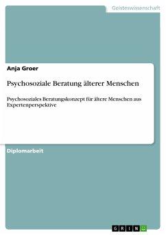 Psychosoziale Beratung älterer Menschen (eBook, ePUB)