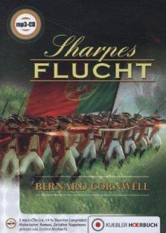 Sharpes Flucht / Richard Sharpe Bd.10 (2 MP3-CDs)