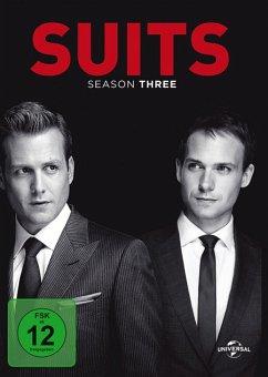 Suits - Season Three DVD-Box - Gabriel Macht,Patrick J.Adams,Rick Hoffman