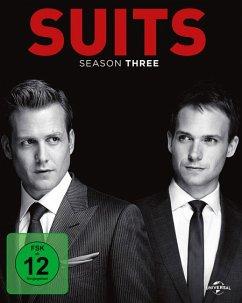 Suits - Season Three Bluray Box - Gabriel Macht,Patrick J.Adams,Rick Hoffman