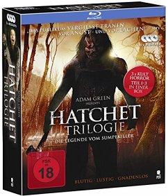 The Hatchet Trilogie Bluray Box