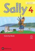 Sally 4. Schuljahr. Activity Book mit Audio-CD. Allgemeine Ausgabe (Neubearbeitung) - Englisch ab Klasse 3