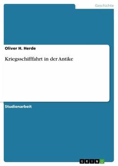 Kriegsschifffahrt in der Antike (eBook, PDF)