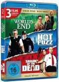 Cornetto Trilogie: The World's End , Hot Fuzz , Shaun of the Dead BLU-RAY Box