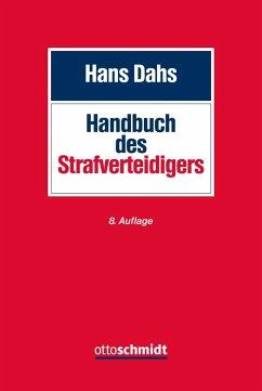 Handbuch des Strafverteidigers - Dahs, Hans