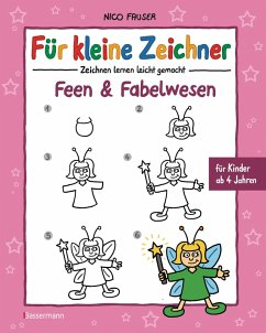 Für kleine Zeichner - Feen und Fabelwesen (eBook, ePUB) - Fauser, Nico