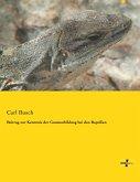 Beitrag zur Kenntnis der Gaumenbildung bei den Reptilien