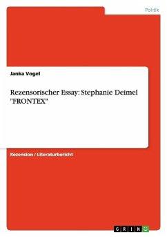 Rezensorischer Essay: Stephanie Deimel