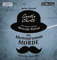 Die Monogramm-Morde / Ein Fall für Hercule Poirot (1 MP3-CDs)