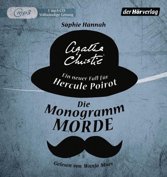 Die Monogramm-Morde / Ein Fall für Hercule Poirot (1 MP3-CDs) - Hannah, Sophie