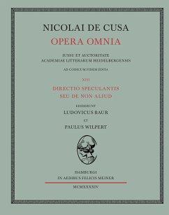 Nicolai de Cusa Opera omnia / Nicolai de Cusa Opera omnia. Volumen XIII.