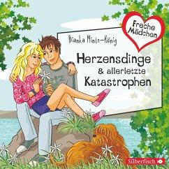 Freche Mädchen: Herzensdinge & allerletzte Katastrophen (MP3-Download) - Minte-König, Bianka