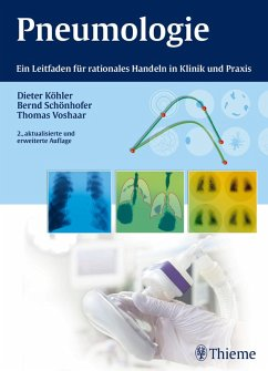 Pneumologie (eBook, PDF) - Köhler, Dieter; Schönhofer, Bernd; Voshaar, Thomas