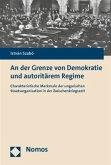 An der Grenze von Demokratie und autoritärem Regime