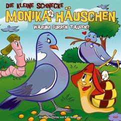 Warum gurren Tauben?, 1 Audio-CD / Die kleine Schnecke, Monika Häuschen, Audio-CDs Tl.39 - Naumann, Kati