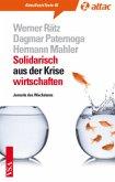Solidarisch aus der Krise wirtschaften