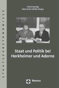 Staat und Politik bei Horkheimer und Adorno