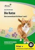 Die Katze. Grundschule, Sachunterricht, Klasse 1-2