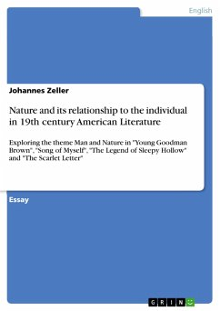 Nature and its relationship to the individual in 19th century American Literature (eBook, PDF)